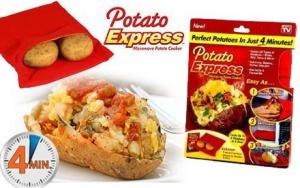 Punga magica de copt cartofi Potato Express0