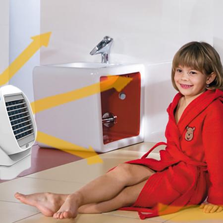 Racitor de aer 2 in 1 Air Cooler, cu vaporizator si rotatie 360 [1]