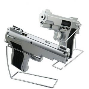 Radio si mp3 in cu slot de card si acumulator forma de pistol0