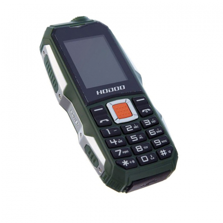 Telefon militar Dual SIM Land Rover Hodoo L9,3800 MAh cu FM Radio si lanterna [3]