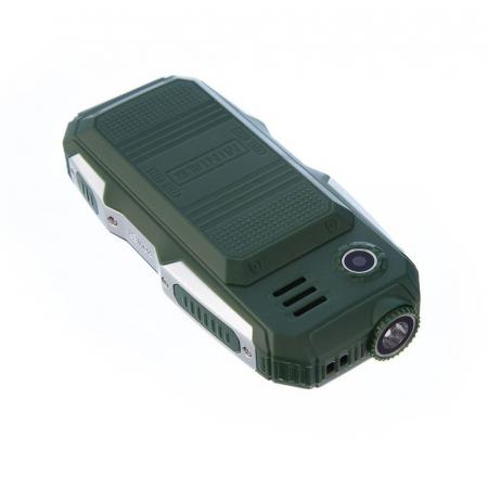 Telefon militar Dual SIM Land Rover Hodoo L9,3800 MAh cu FM Radio si lanterna [2]