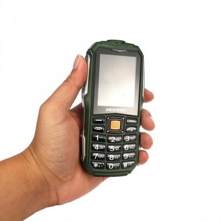 Telefon militar Dual SIM Land Rover Hodoo L9,3800 MAh cu FM Radio si lanterna [0]
