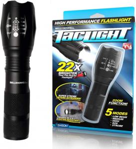 Set 2 lanterne Tactice Tac Light Super LED Tac Light 1+1 Gratis [1]