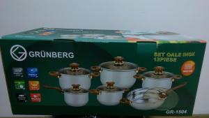 Set de oale din inox Grunberg 12 piese GR-15040