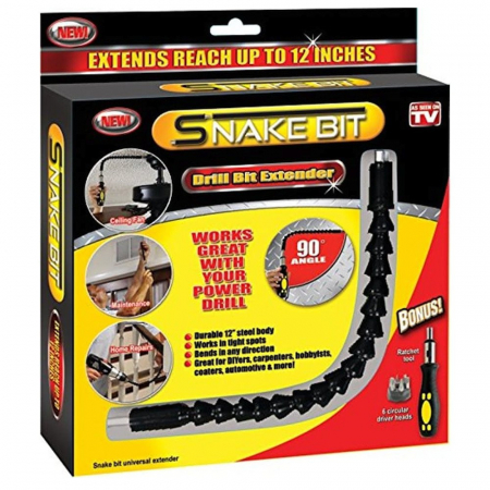 Set extensor flexibil pentru bormasini, surubelnita si biti, Snake Bit [1]