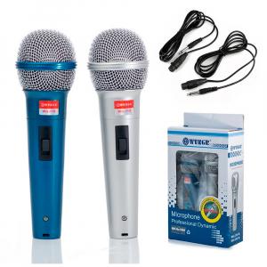 Set de 2 microfoane dinamice cu fir, 600 ohmi premium WG-1190