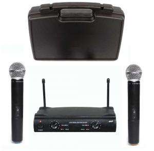 Set microfoane fara fir profesionale Shure UHF SM581