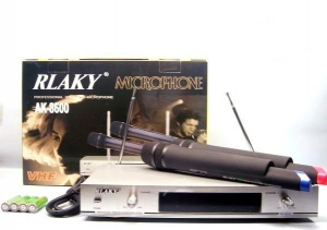 Set microfoane profesionale wireless RLAKY AK-86000