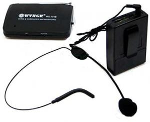 Set microfon wireless lavaliera tip casca WVNGR WG-101B1