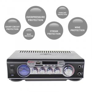 Statie audio pentru Karaoke MA-006 cu adaptor SD card si USB3