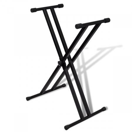 Suport stativ pentru orga, universal si cadru cu brate duble X [1]