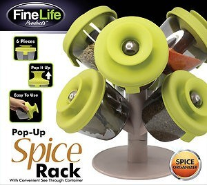 Suport de condimente Pop-Up Spice Rack0