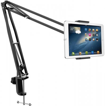 Suport de masa pentru telefon si tableta cu brat ajustabil [0]