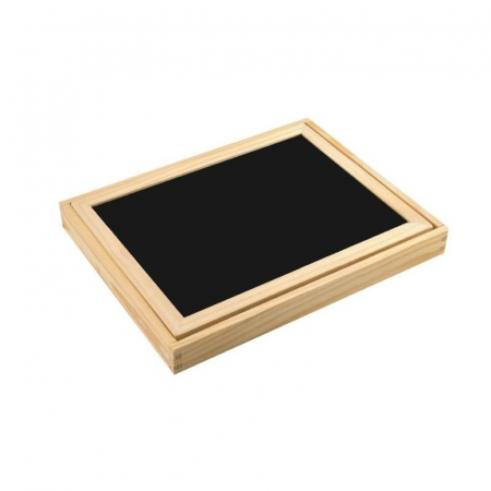 Tablita magnetica cu 2 fete si accesorii cu puzzle magnetice [4]