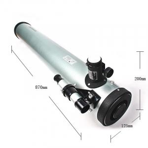 Telescop astronomic profesional retractor cu 4 reglaje F90076 [2]