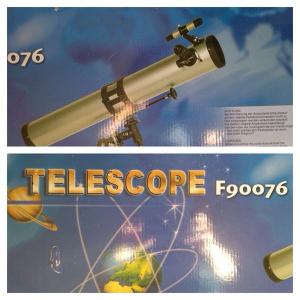 Telescop astronomic profesional retractor cu 4 reglaje F90076 [5]