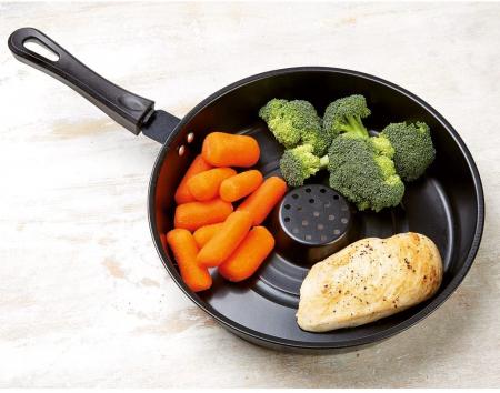 Tigaie Dry Cooker neaderenta,Dry Fry Pan [2]