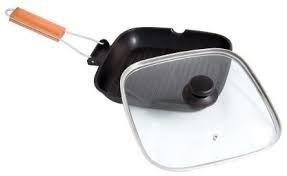 Tigaie grill teflonata cu capac Yena Grunberg HXG2828LD0