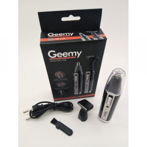 Trimmer nas si urechi 2in1 cu acumulator Geemy GM-31062