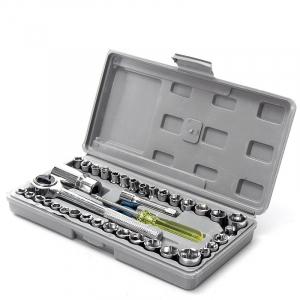Trusa de chei tubulare cu 40 de piese incluse ''Aiwa'2