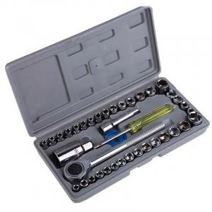 Trusa de chei tubulare cu 40 de piese incluse ''Aiwa'0