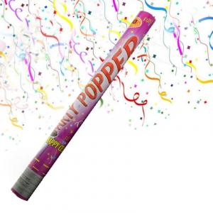 Tun de confetti pentru evenimente festive 96 cm0