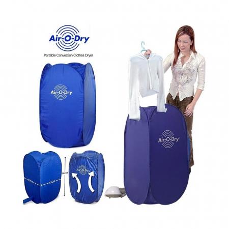 Uscator de rufe electric cu aer cald, portabil si pliabil, Air O Dry [0]
