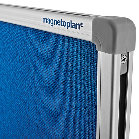 Panou Despartitor Textil Albastru 1800x1250x500 mm MAGNETOPLAN [2]