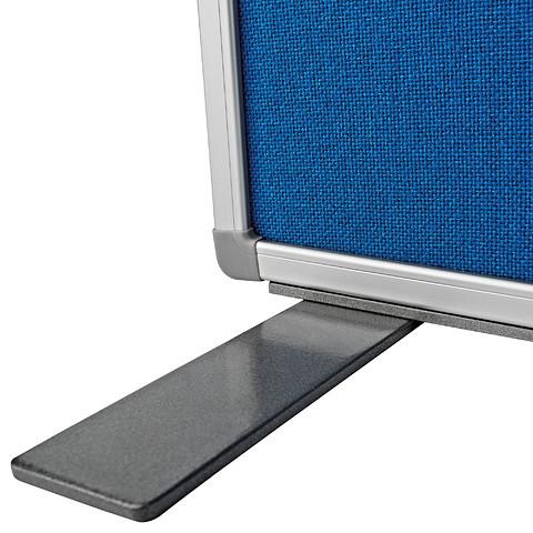 Panou Despartitor Textil Albastru 1800x1250x500 mm MAGNETOPLAN [3]
