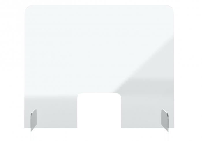 Protectie acryl pentru tejghea, birou 850*700(h) mm Magnetoplan 0
