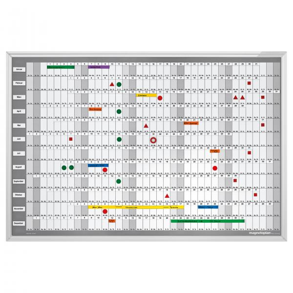 Planner Anual Manager 925x625mm Magnetoplan 0