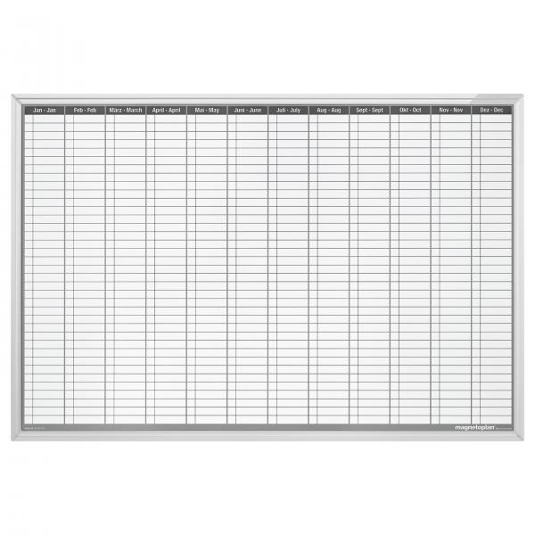Planner Anual Permanent 900x600mm Magnetoplan 1