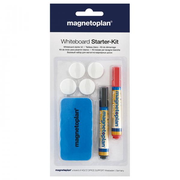 Whiteboard Starter Kit Magnetoplan 0