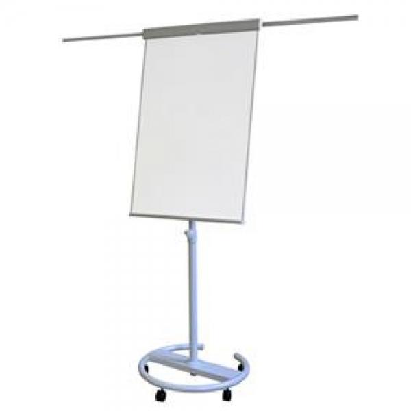 Flipchart magnetic cu brate si roti 106*68 cm Professional Memoboards 0