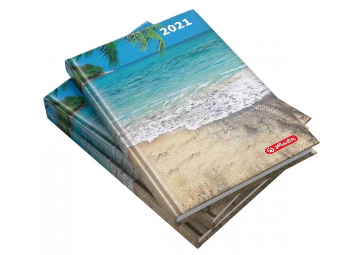Agendă datată 2021 A5 Maldive Herlitz 0