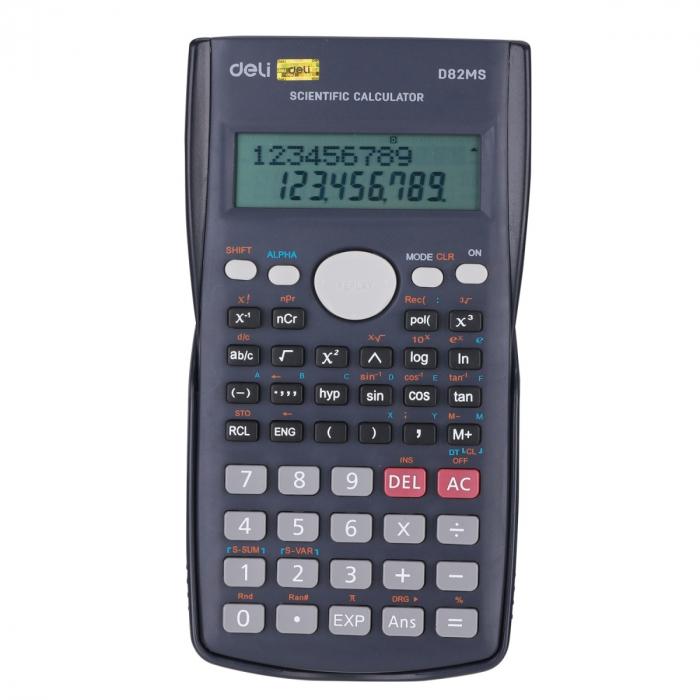 CALCULATOR STIINTIFIC 12DIG 240F 82MS DELI [0]