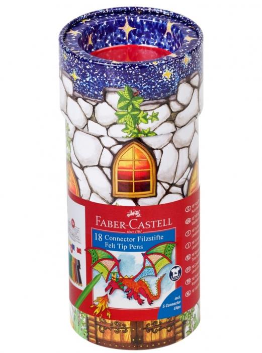Carioca 18 Culori Castel Connector Faber-Castell 0