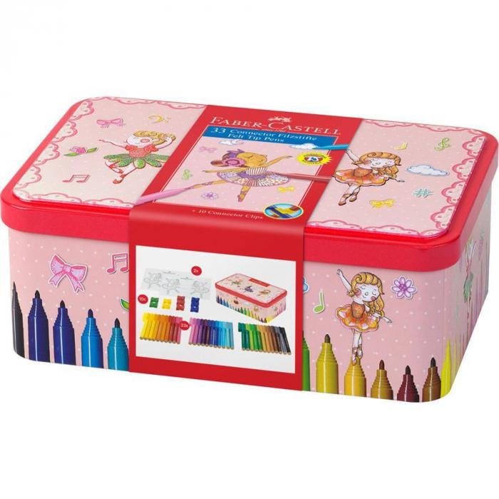 Carioca 33 Culori Ballerina Box Connector Faber-Castell [1]