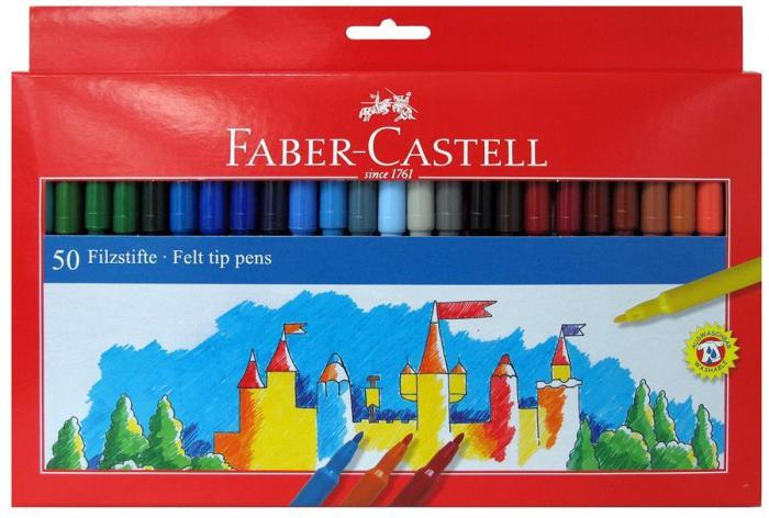 Carioci 50 culori Faber-Castell [0]