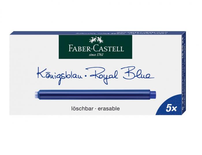 Cartuse Cerneala Mari Faber Castell Albastru 5 buc/cutie [0]