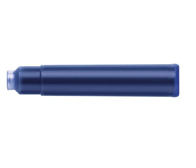 Cartuse Cerneala Mici Faber-Castell Albastru 100 buc/borcan [1]
