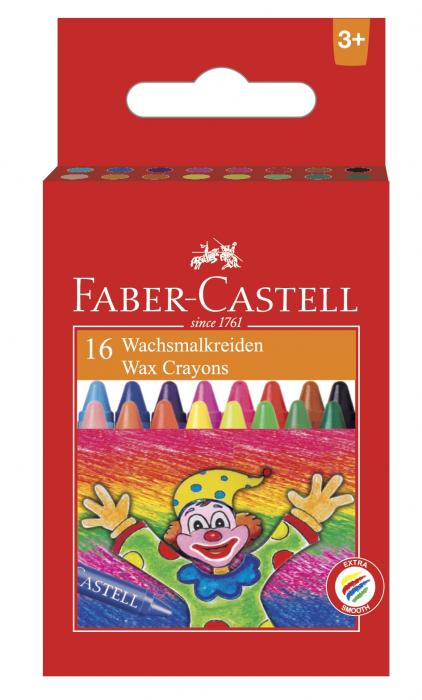Creioane Cerate Clown 16 culori Faber-Castell [0]