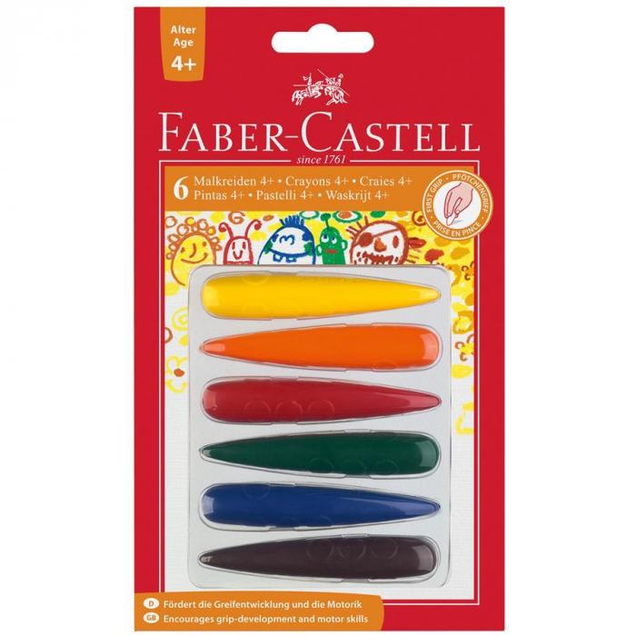 Creioane Cerate Degete Faber-Castell [0]