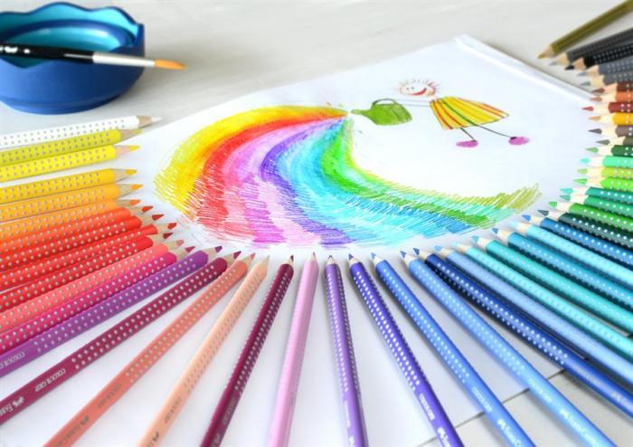 Creioane Colorate Grip 2001 48 Culori Faber-Castell [0]