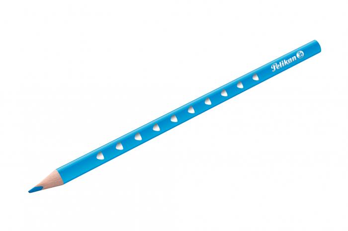 Creioane Colorate SILVERINO LACUITE, Set 12 Culori Pelikan [2]