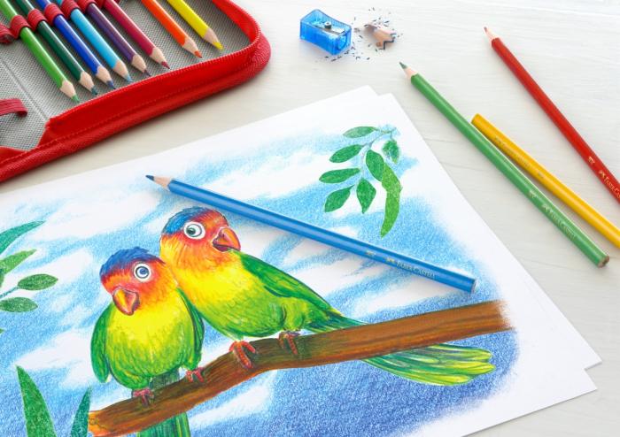 Creioane Colorate Triunghiulare 18+4+2 PROMO Faber-Castell [1]