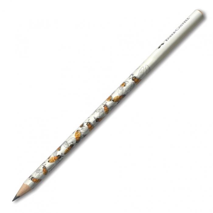 Creion Grafit B Cu Modele - model albinuta Faber-Castell [0]