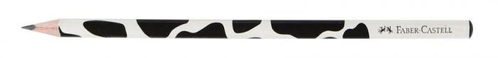 Creion Grafit B Cu Modele - model vaca Faber-Castell 1