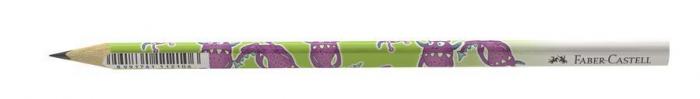 Creion Grafit B Monstri Faber-Castell 2