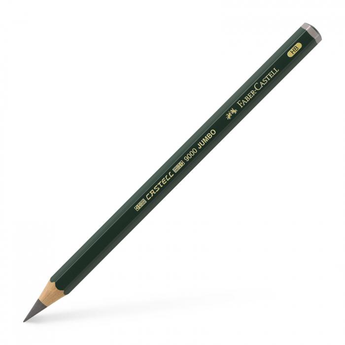 Creion Grafit Castell 9000 Jumbo Faber-Castell [0]